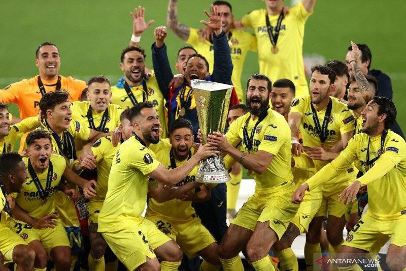 Villarreal juarai Liga Europa usai taklukkan MU lewat adu penalti