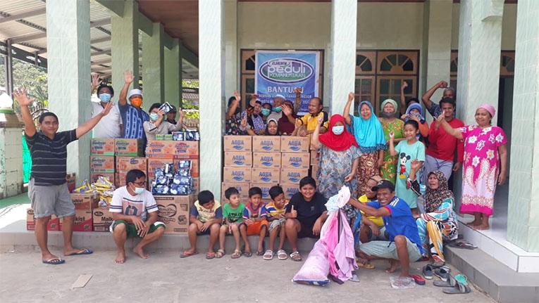 Elshinta Peduli salurkan bantuan untuk korban banjir dan longsor di Manado